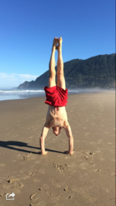 handstand-at-the-beach